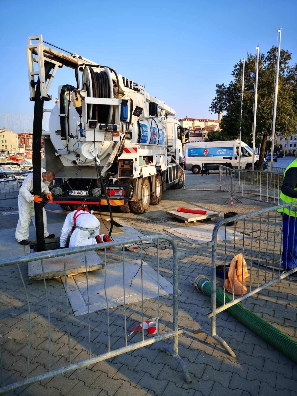 Kako napreduje izgradnja Postrojenja za pročišćavanje otpadnih voda aglomeracije Rovinj?