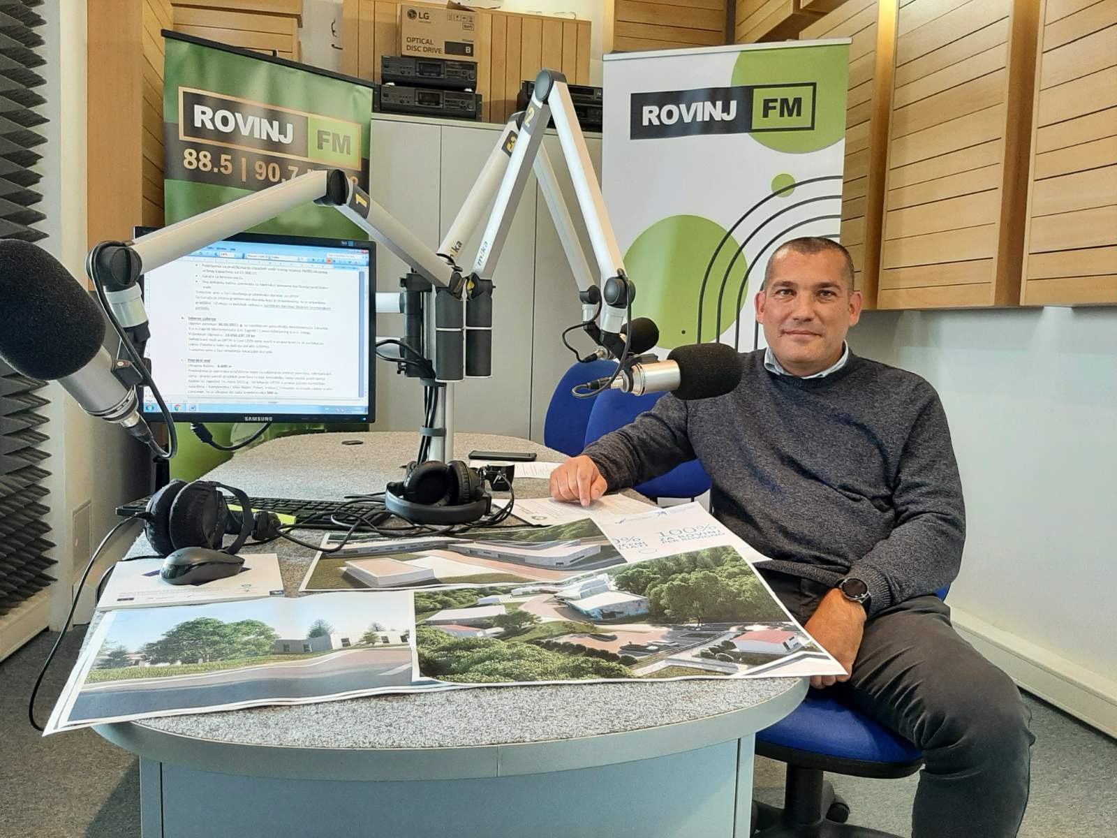 Novosti o projektu sutra na Radio Rovinj FM-u