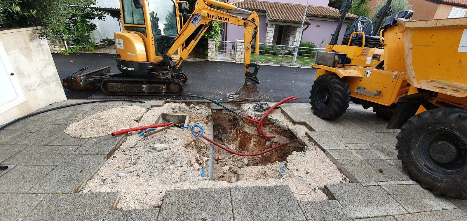 Rezime izvedenih radova na novoizgrađenoj kanalizacijskoj mreži